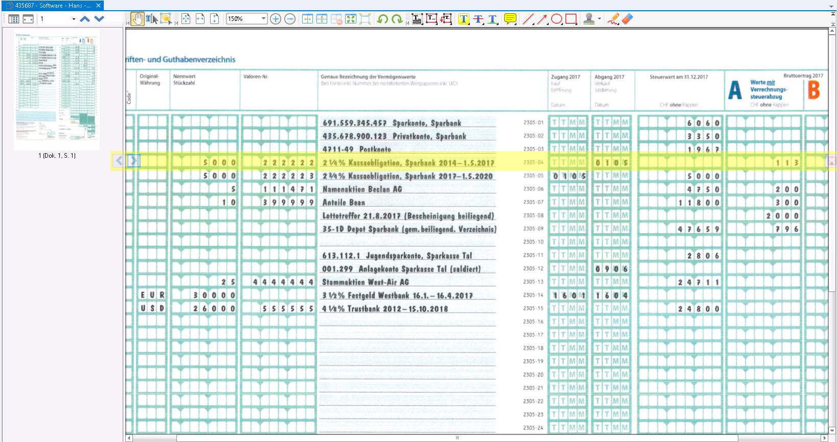 image from Der ECMind TaxViewer erhält ein neues Feature